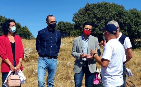 """La Diputación Provincial de Albacete promueve a través del Instituto de Estudios Albacetenses """"Don Juan Manuel"""", las excavaciones arqueológicas en Higueruela 'Alquerías 2020'."""